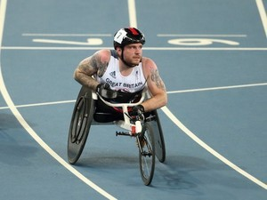 Mickey Bushell MBE during what he calls 'a disappointing' Paralympics in Rio